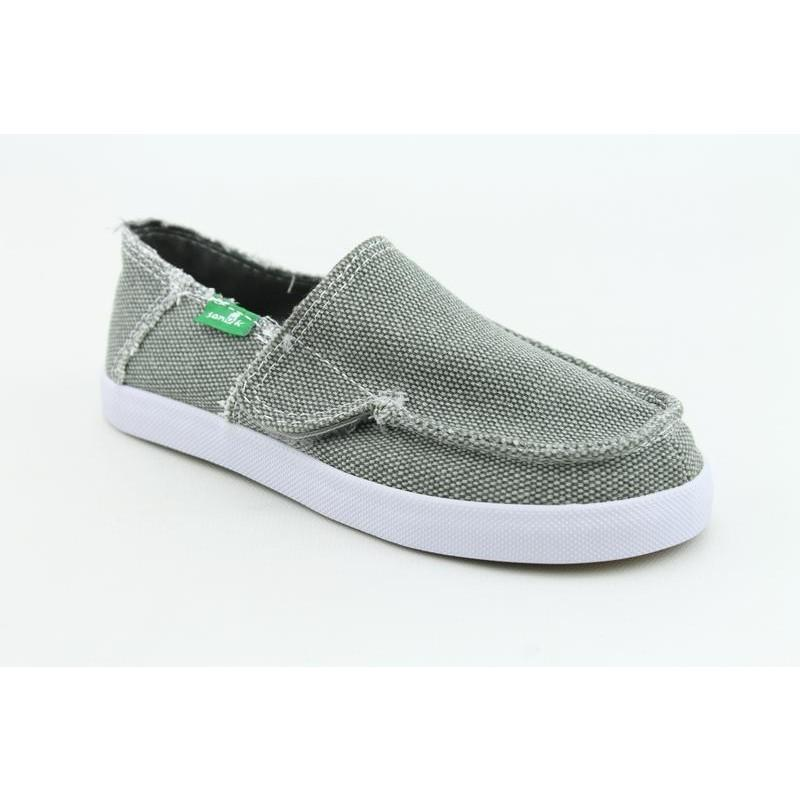 Sanuk Youth's Standard Kids Gray Casual Shoes