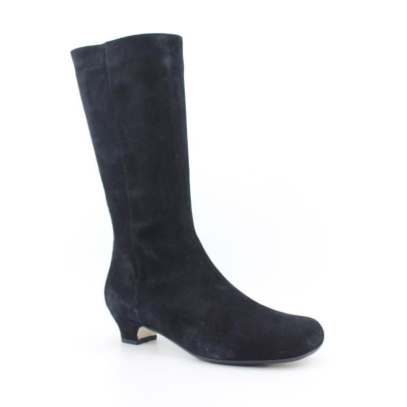Taryn Rose Women's Rania-Aqua Rose Blacks Boots (Size 10)