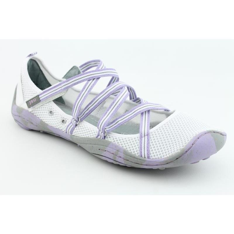 Jambu Women's Vegan White Athletic (Size 9.5)