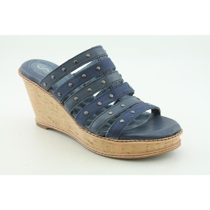 Softwalk Women's San Fran Blue Sandals (Size 10.5)