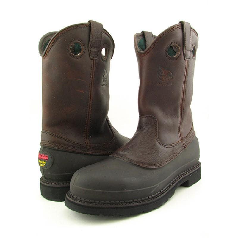 "GEORGIA Men's G5655 11"" Muddog Brown Boots"