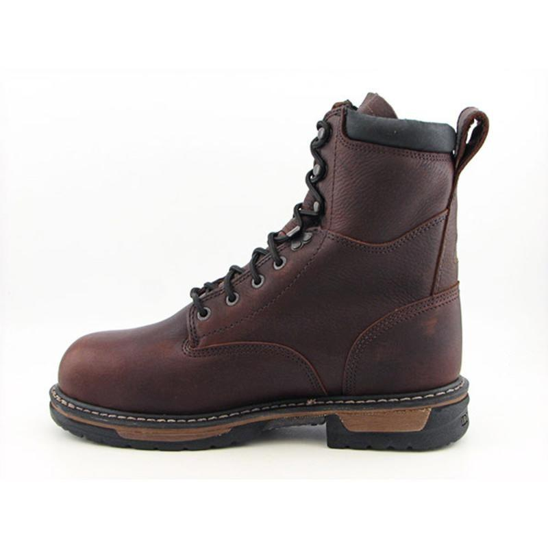 "Rocky Men's 8"" IronClad Brown Boots"