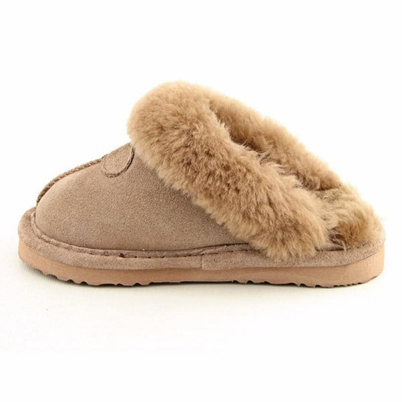 Bearpaw Infants Baby Toddler's Loki Beige Slippers