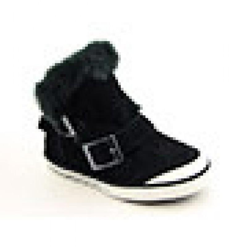 Bearpaw Infants Baby Toddler's Venice Black Boots