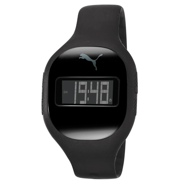 Puma Men's Black Fuse Watch