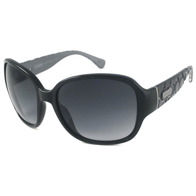 Coach Katya Women's Wrap Sunglasses