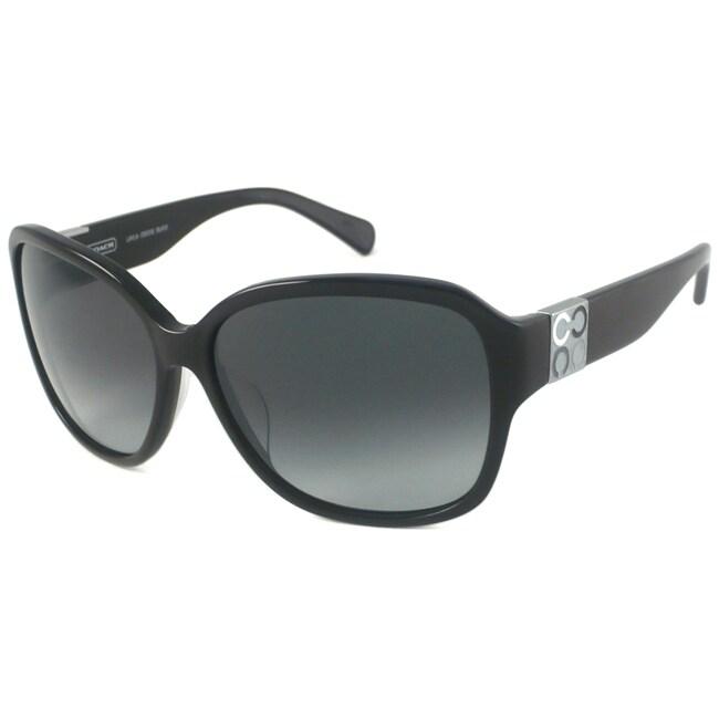 Coach Layla Women's Wrap Sunglasses