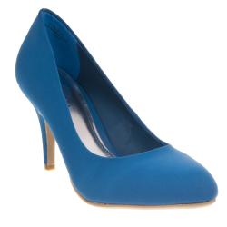 Riverberry Women's 'Vinnie' Blue Pointed-toe Heels