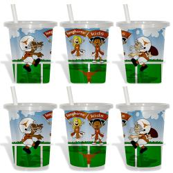 Texas Longhorns Sip and Go Cups (Pack of 6)