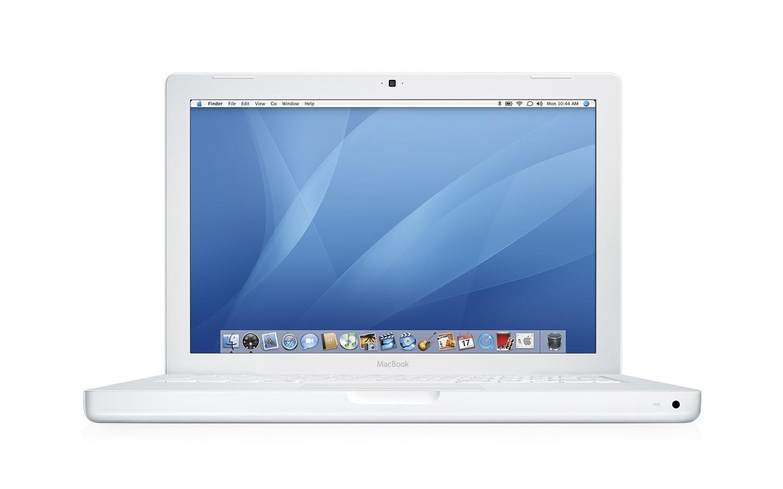 Apple MacBook 2GHz 80GB 13.3-inch White Laptop (Refurbished)