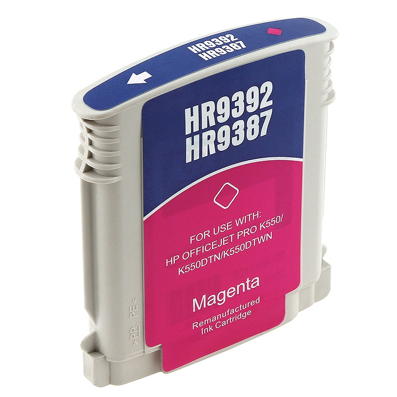 HP 88XL/ C9392AN/ C9387AN Magenta Ink Cartridge (Remanufactured)