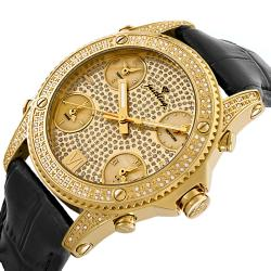 JBW Men's Jet Setter Diamond Watch