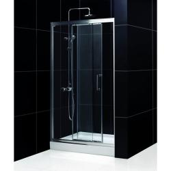DreamLine Illusion Sliding Shower Door (46-47 x 72)