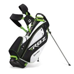 TaylorMade RocketBallz Black/ White/ Slime Stand Bag