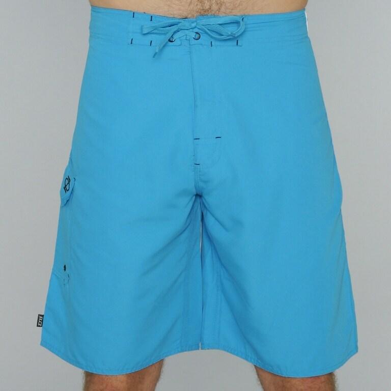 Zonal Men's Blue/ Black Color-block Boardshorts