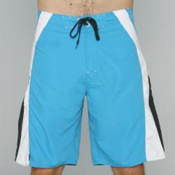 Zonal Men's 'Source' Blue/ White/ Black Boardshorts