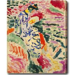 Henry Matisse 'La Japonaise: Woman Beside the Water' Hand-painted Oil on Canvas