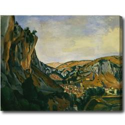 Andre Derain 'Valley of the Lot at Vers' Abstract Hand-painted Oil on Canvas