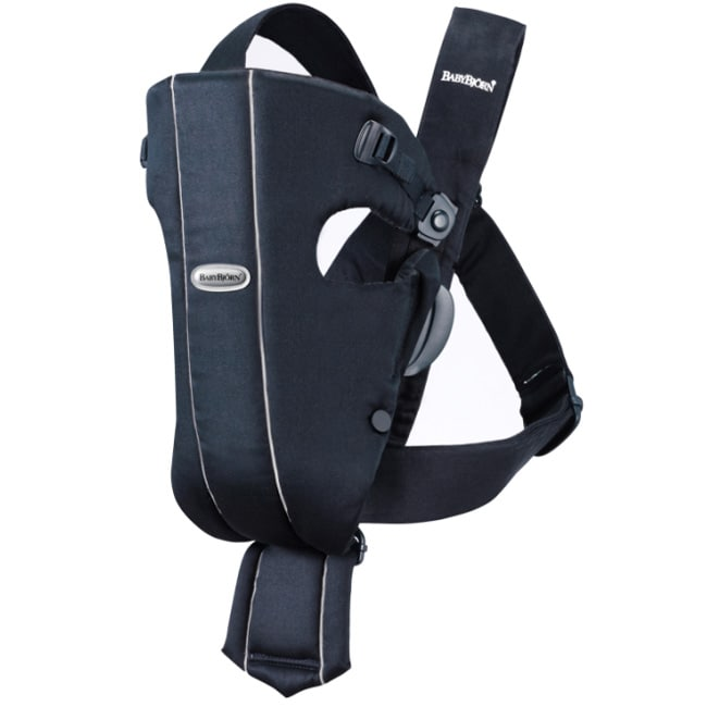 Baby Bjorn Baby Carrier in City Blue