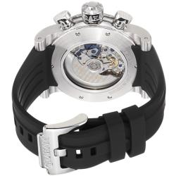 Graham Men's 'Swordfish' Black Dial Black Strap Automatic Watch