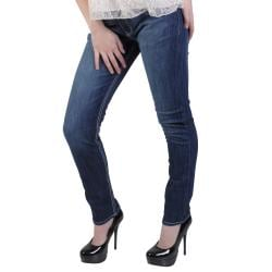 Hailey Jeans Co. Junior's Contrast Stitching Skinny Jeans