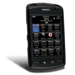 BasAcc Black Snap-on Case for Blackberry Storm 9500/ 9530
