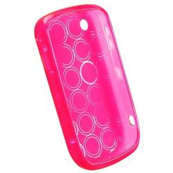 BasAcc Clear Pink TPU Rubber Case for Blackberry Curve 8520/ 8530