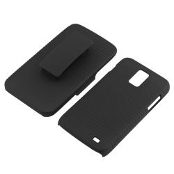 Black Snap-on Case/ Holster for Samsung Galaxy S II Skyrocket i727