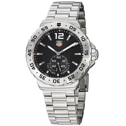 Tag Heuer Men's 'Formula 1' Black Dial Stainless Steel Watch