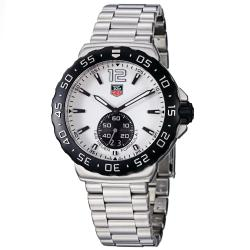 Tag Heuer Men's 'Formula 1' White Dial Stainless Steel Watch