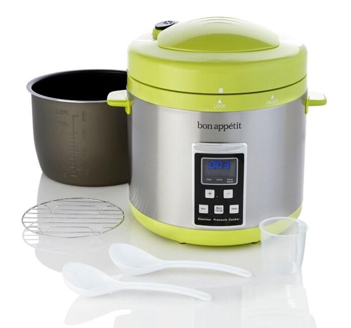 Bon Appetit 7-quart Programmable Heavy-duty Pressure Cooker (Refurbished)