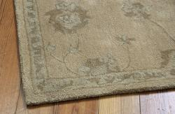 Hand-tufted Superlative Gold Rug (8' x 11')
