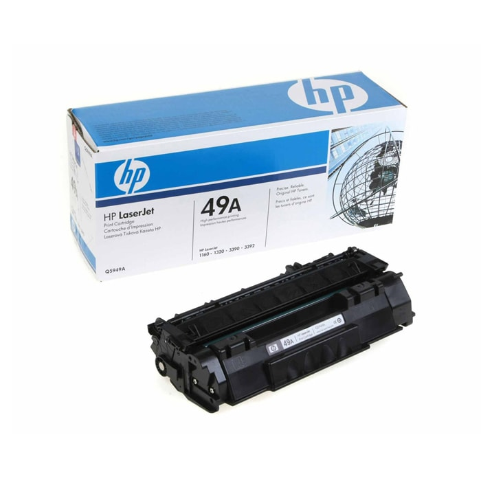 HP Q5949A 49A Black Toner Cartridge