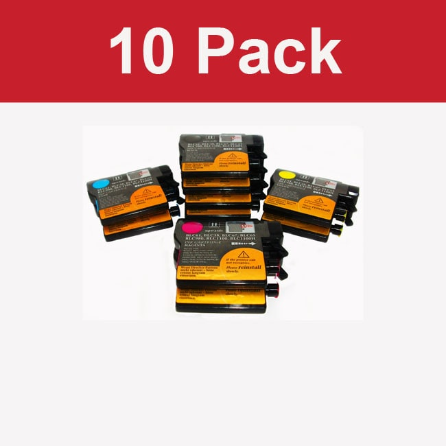 Brother LC 61 Compatible Toner Cartridge (Pack of 10)