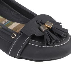 Journee Collection Women's 'SAPPHIRE-31' Tasseled Slip-on Flats