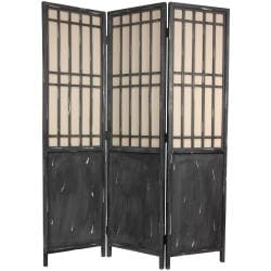 Vintage Lattice 6-foot Room Divider (China)