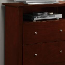 Adlington Warm Cherry 2-drawer Casual TV Chest