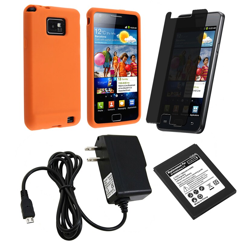 Case/ Screen Protector/ Battery/ Charger for Samsung Galaxy S 2