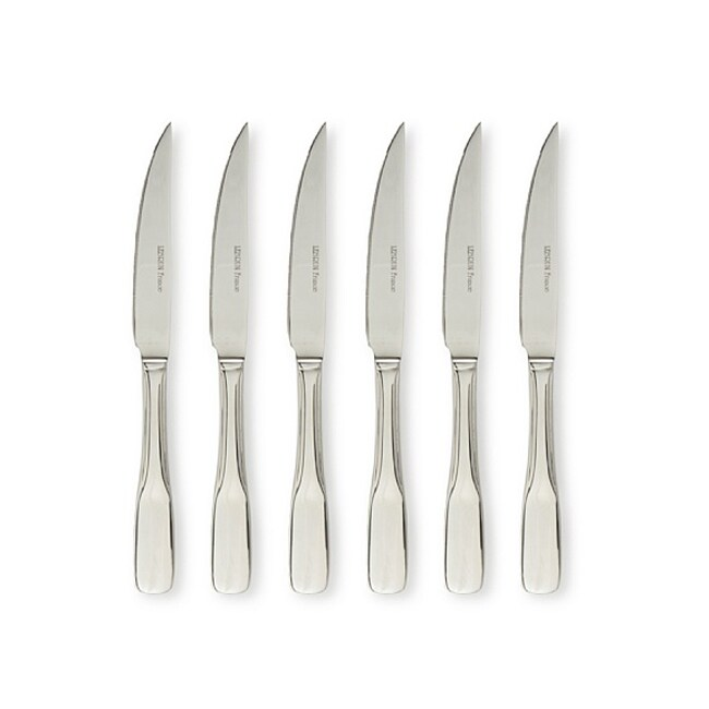 LeBrun French Baguette Style Stainless Steel Steak Knives (Set of 6)