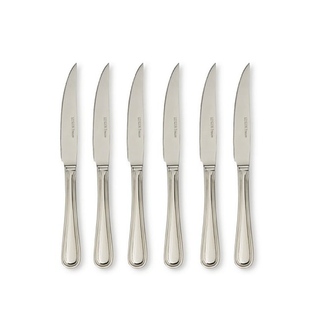 LeBrun Stainless Steel Old Pairs Decor Steak Knives (Set of 6)