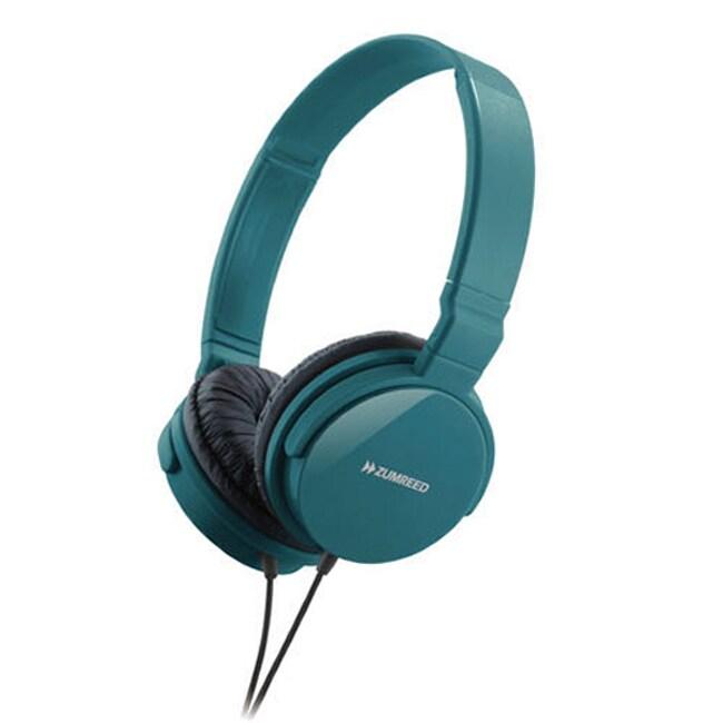Zumreed ZHP-018 Teal Metro Headphones
