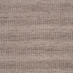 Hand-crafted Solid Grey Baham  Wool Rug (8' x 10')