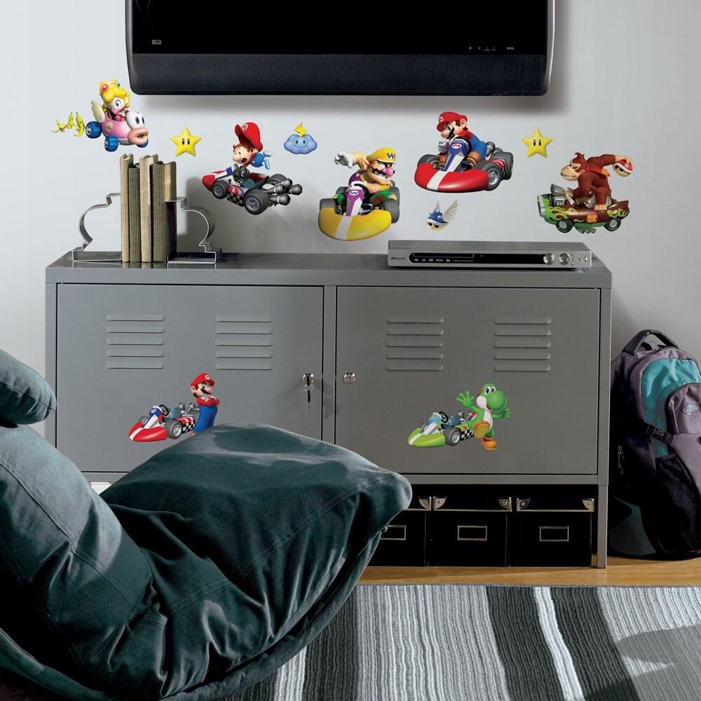RoomMates Nintendo Mario Kart Peel and Stick Wall Decals
