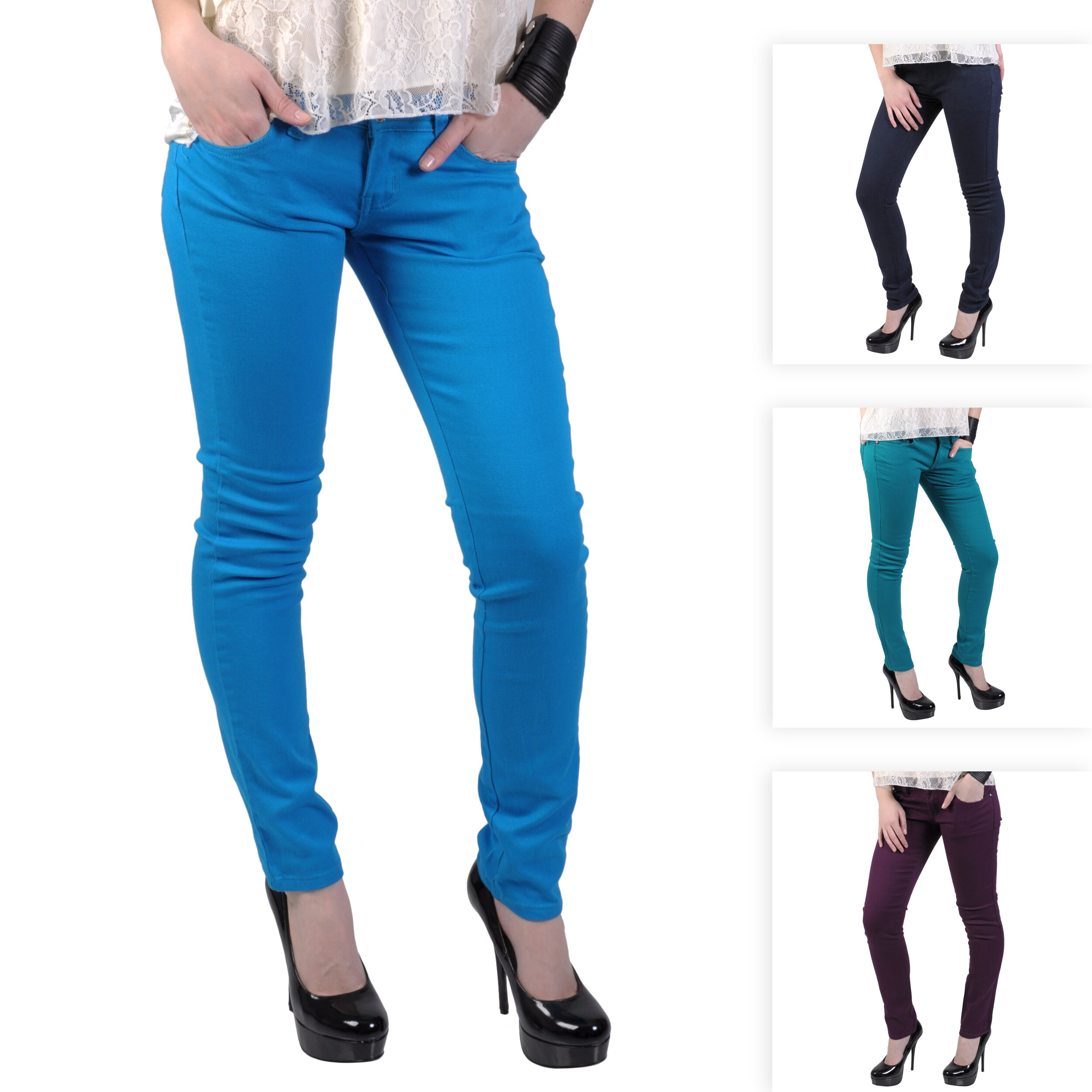 Hailey Jeans Co. Junior's Stretch Skinny Jeans