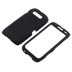 BasAcc Black Rubber Coated Case for Blackberry Torch 9850/ 9860