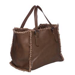 Bottega Veneta Oversized Leather Tote Bag