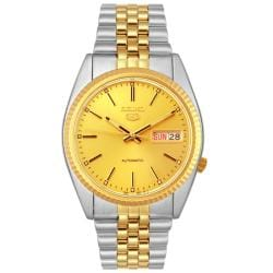 Seiko Men's Two-Tone Automatic Day/Date Watch