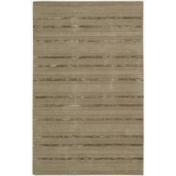 Nourison Calvin Klein Hand-tufted Brown Sahara Rug (7'9 x 10'10)