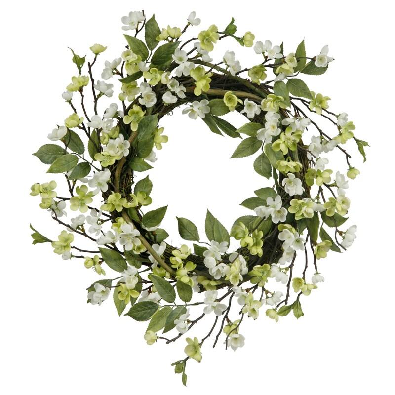Blossom Branch 24-inch Wreath