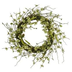 Wild Dogwood 22-inch Wreath